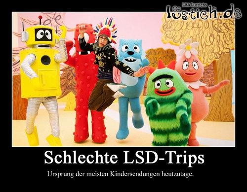 Schlechte LSD-Trips