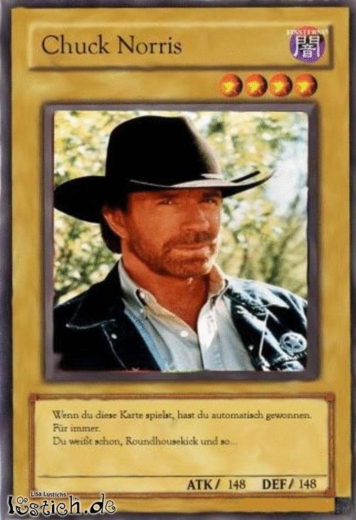 Chuck Norris Yu Gi Oh