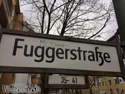 Mother-Fugger-Straße in Berlin