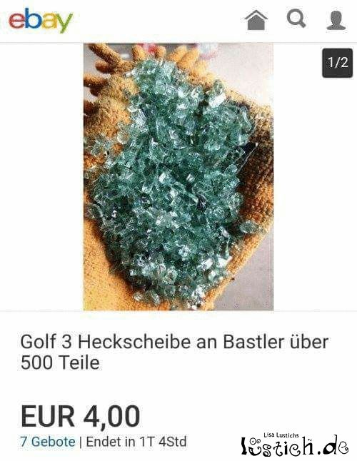 Golf 3 Heckscheibe