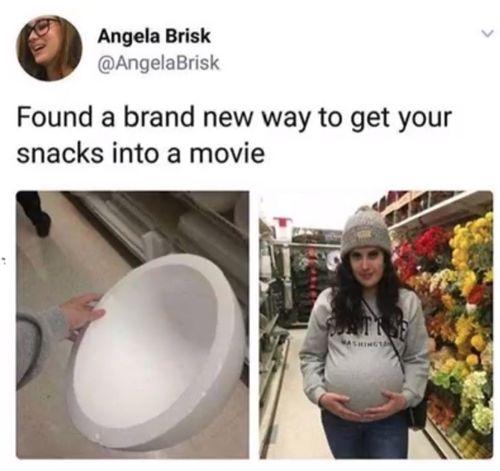 Süßigkeiten ins Kino schmuggeln