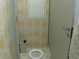 Toilette weg