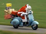Weihnachtsmann mal anders unterwegs