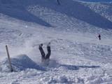 Snowboard Sturz
