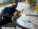 Fuß brennt