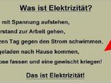 Was ist Elektrizität