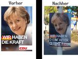Merkel Vorher Nachher
