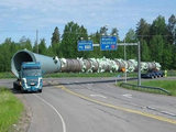 Schwerer Transport