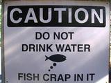 Nicht Trinken!