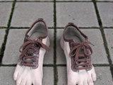 Fußschuhe