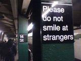Bitte nicht lächeln
