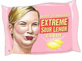 Renee Zellweger's Sour Lemon Candy