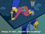 Morgens um drei bei den Simpsons ;)