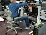 Hoher Schreibtisch
