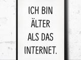 Älter als das Internet