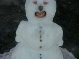 Lächelnder Schneemann