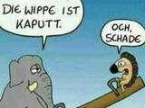 Kaputte Wippe