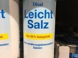 Leichtes Salz