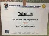 Diese Toilettenwahl
