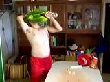 Der Vodka-Melonen-Fisch-Mann
