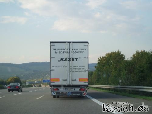 Transport aus Polen