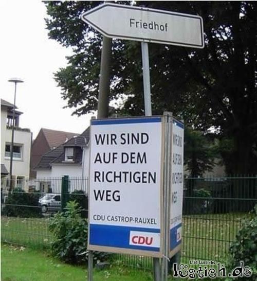 CDU Friedhof