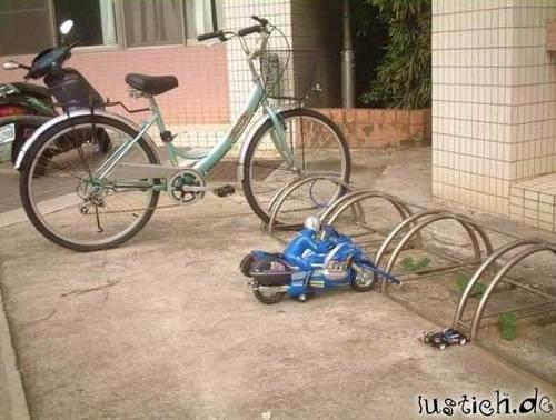 Mini-Motorrad