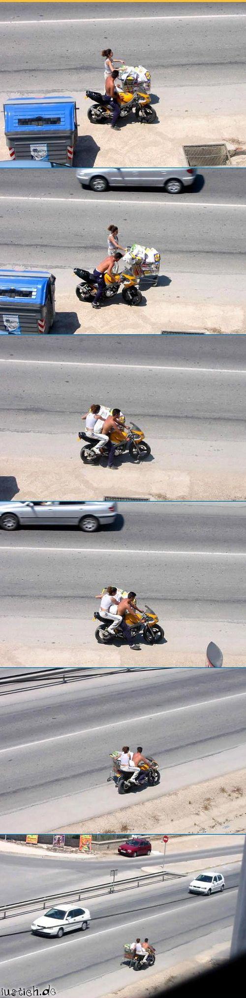 Beiwagen-Motorrad