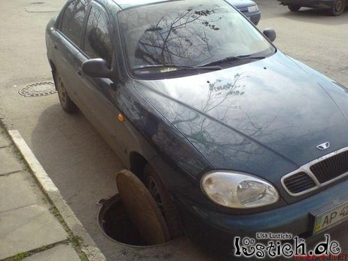 Gut eingeparkt
