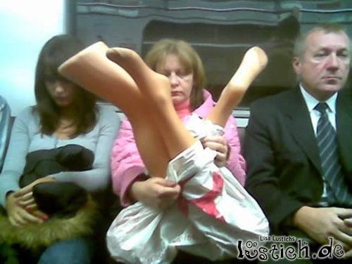Transport von Beinen