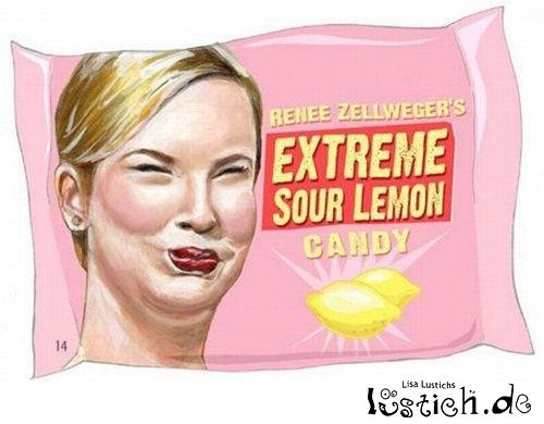 Renee Zellweger's Sour Lemon Candy