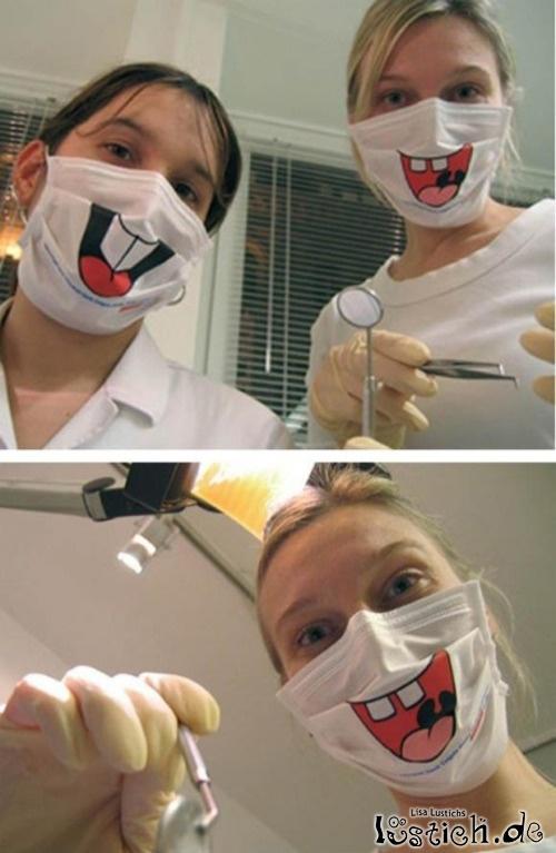 Mundschutz Beim Zahnarzt