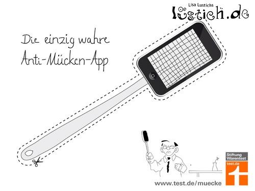 Einzig wahre Anti-Mücken-App
