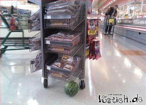 Melone ersetzt Rolle