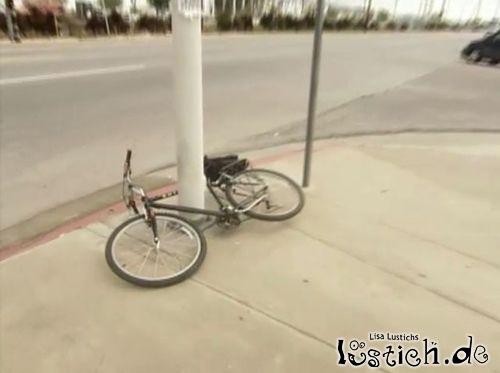 Fahrrad ist sicher