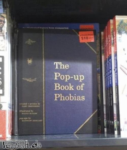 Pop-Up Buch der Phobien
