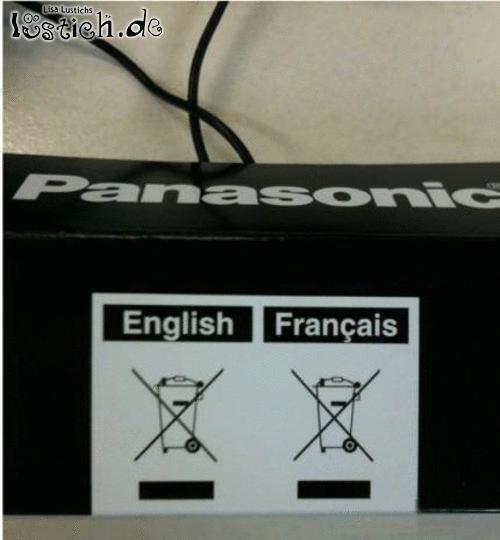 Englisch und Französisch