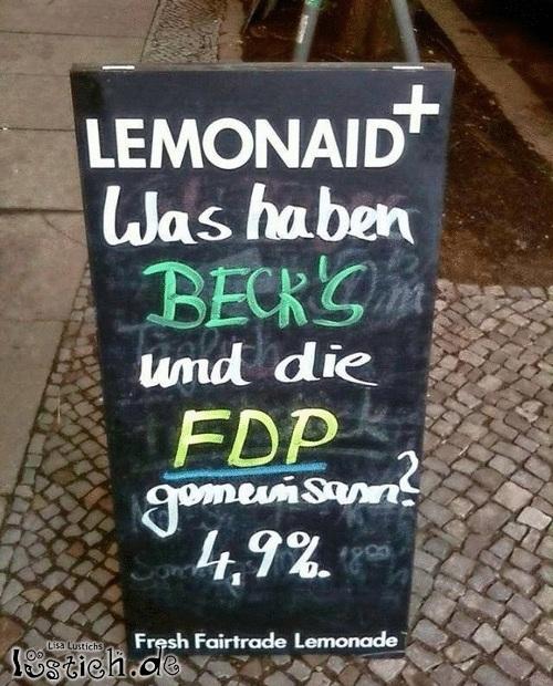 Politisches Bier