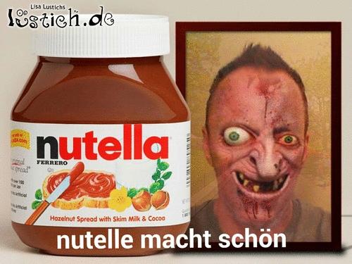 Nutella macht schön....