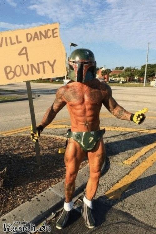 Was tust du für ein Bounty?