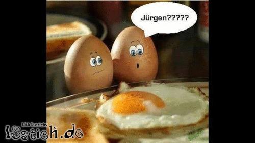 Was haben Sie mit Jürgen gemacht?