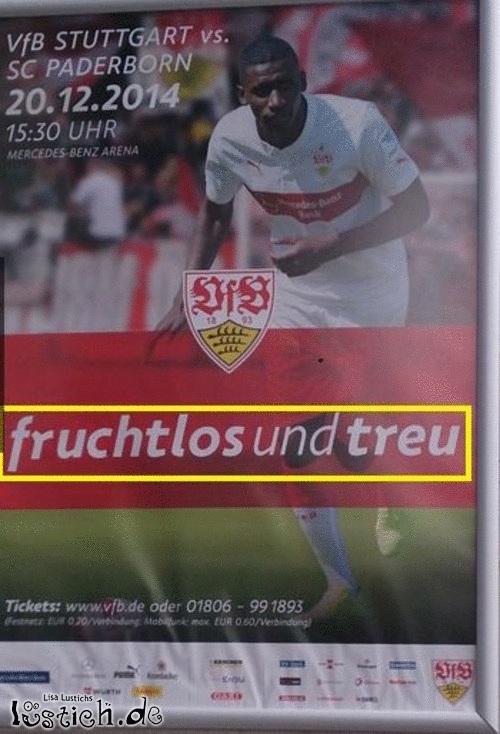 Fruchtloses Stuttgart