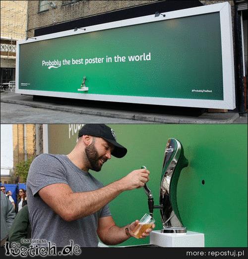 Bestes Poster der Welt