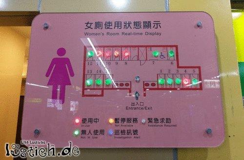 Toilettenlichter