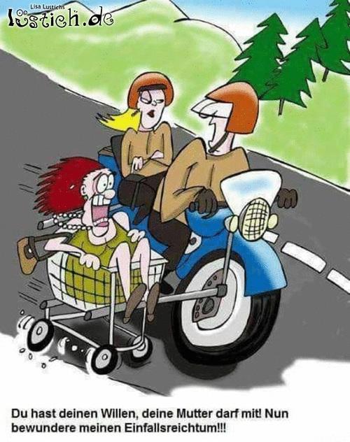 Schwiegermutter mitnehmen
