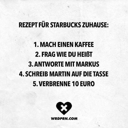 Starbucks-Rezept für Zuhause