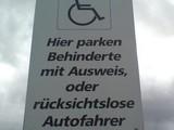 Parkhinweis