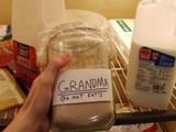 Bitte nicht die Oma essen