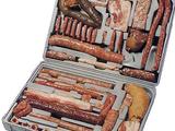 Fleisch-Koffer