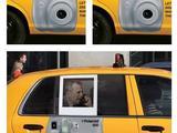 Werbung im Taxi